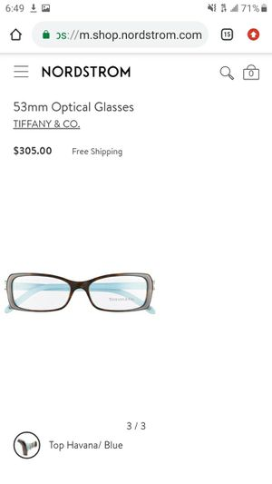 Authentic Tiffany & Co Havana Glasses $180 or best offer for Sale in Carrollton, TX