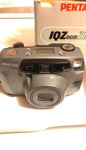Pentax IQ Zoom 160 35mm Film Point Shoot Camera - for Sale in Edinburgh, IN
