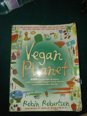 Vegan Planet Recipe Book for Sale in Bloomington, CA