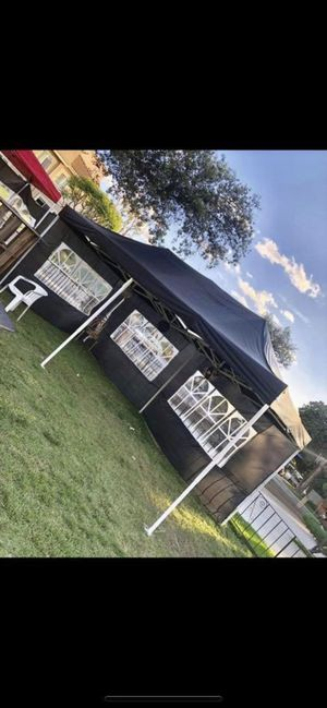 🎉FOR SALE Heavy Duty 10x20ft Pop Up Canopy Tent with Side Walls🎉 for Sale in Ontario, CA