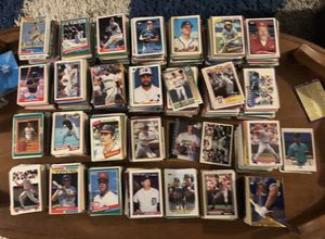 Baseball Card Collection 10,000 cards lot HUGE - 1990's 1980's GREAT starter kit Yankees Dodgers ALL THE TEAMS MLB Bat Mitt for Sale in Tampa, FL