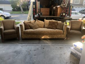 Sofa and 2 chairs in great condition for Sale in Oakland, CA