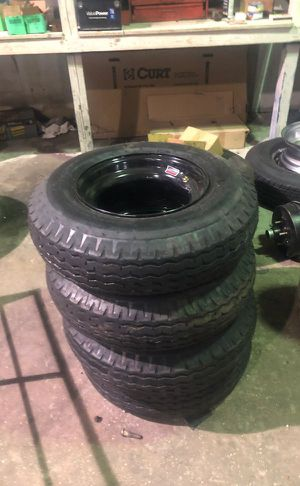 Molbile home tires in stock. 8-14.5. New 16 ply. In stock 90.00 each warranty. - We carry all trailer tires, trailer parts, trailer repair for Sale in Plant City, FL