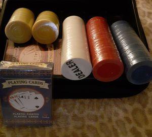 Texas HoldEm Poker set for Sale in Stratford, CT