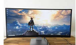 Dell u3415w curved monitor great for gaming for Sale in Orlando, FL