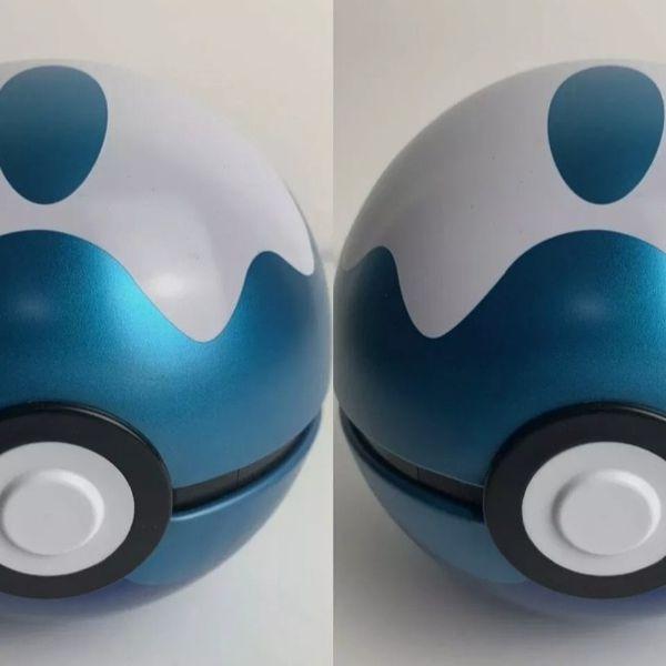Pokemon - 2x DIVE BALL Pokeball 2020 Empty Summer tin No packs Cosplay Display