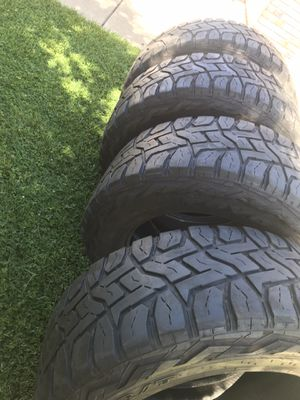 4 tires size 35x13.50r20lt for Sale in Patterson, CA