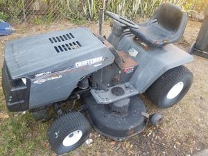 Craftsman riding mower for Sale in Tampa, FL