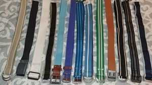 Men's belts from GAP and EXPRESS for Sale in Alexandria, VA