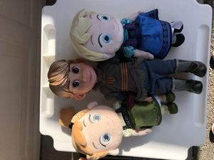 Elsa , Fin , Ana Frozen for Sale in Compton, CA