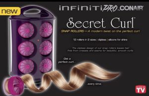 Curling Iron Infiniti Pro Conair Secret Curl for Sale in Trenton, NJ