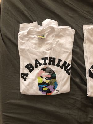 Bape and supreme shirts (obo) for Sale in Montgomery Village, MD