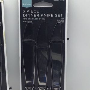 12 Butter Knives from Target, 2 Packs of 6 for Sale in Vancouver, WA