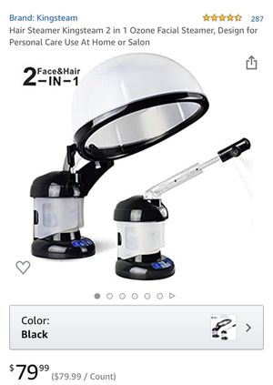 Hair and facial Steamer for Sale in Riverside, CA