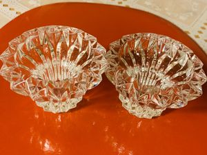 Beautiful Crystal pair candle holders... for Sale in Fresno, CA