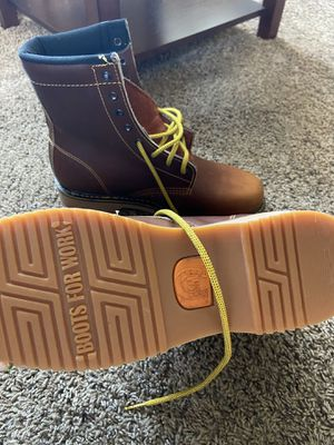 Steel toe work boots for Sale in Delano, CA