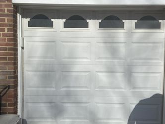 Genie Single Insulated Garage Door And System With Remote for Sale in Springfield,  VA