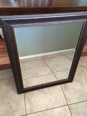 "Large wall mirror ready to hang 27""x33"" for Sale in Murrieta, CA"