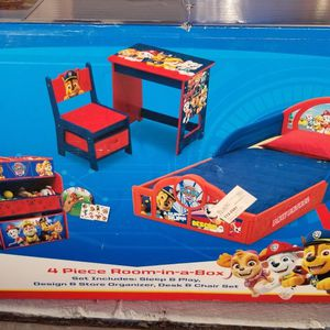 Paw Patrol 4 Piece Room Set for Sale in Hesperia, CA