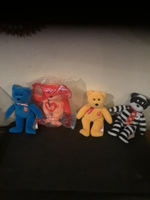 MCDONALDS BEANIE BABIES $20 FOR ALL for Sale in Santa Fe Springs, CA
