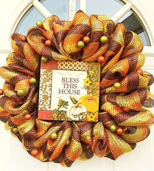 Autumn Wreath for Sale in Inwood, WV
