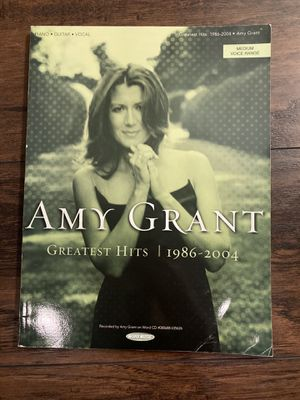 Amy Grant Greatest hits (1986-2004) sheet music for piano, vocal, and guitar for Sale in Santa Rosa Beach, FL