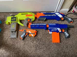 (4 Nerf guns ) negotiable or trade for Sale in Nashville, TN