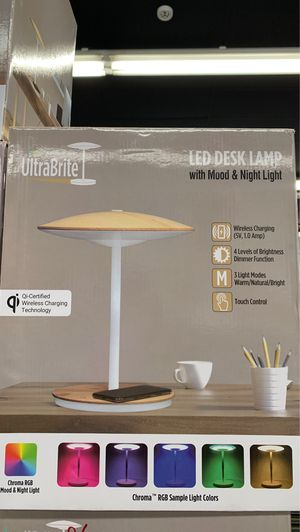 LED DESK LAMP WITH MOOD AND NIGHT LIGHT for Sale in Mesa, AZ
