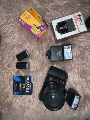 Canon film camera bundle for Sale in San Diego, CA