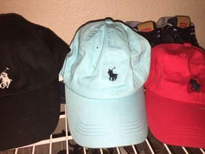Polo hats-adjustable LIGHT BLUE AND LIGHT PINK for Sale in Virginia Beach, VA
