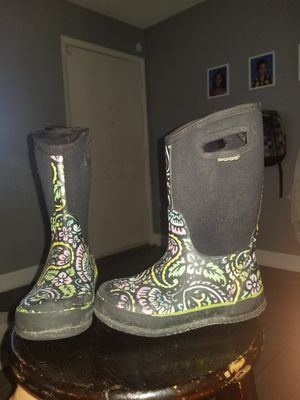 Girls Bogs rain/snow boots size 13C for Sale in Henderson, NV