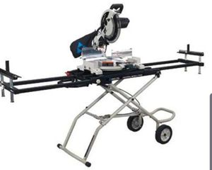 Delta miter saw and stand for Sale in Warwick, RI