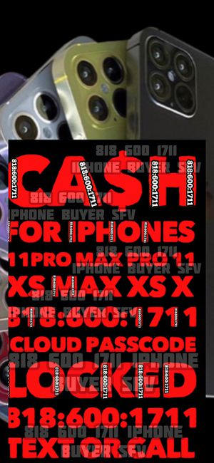 iPhone 11 Pro Max 12 iCloud unlocked locked xs max pro xr x NEW sealed open box phone cash NEW Apple TV MacBook Air iPad Pro 12.9 WiFi cellular NEW for Sale in Los Angeles, CA