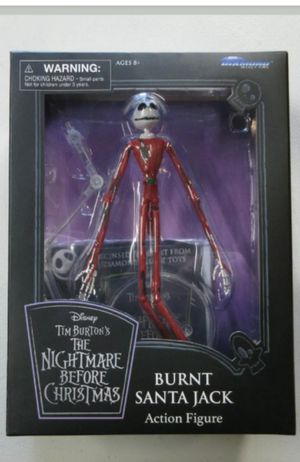 Exclusive Nightmare Before Christmas Burnt Santa Jack Collectible Action Figure Toy for Sale in Chicago, IL