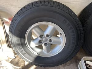 Jeep wheels for Sale in Wilmington, DE