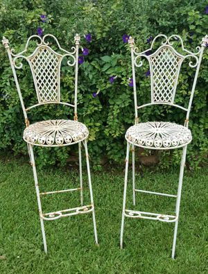 Shabby chic bar stools vintage for Sale in Pembroke Pines, FL