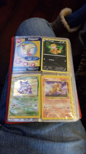 RARE POKEMON CARD COLLECTION VERY GOOD CONDITION ON CARDS for Sale in North Las Vegas, NV