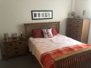 Light Brown Wooden Bedroom Set for Sale in Westbrook, ME