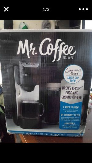 Mr. Coffee Single Brew Coffee Maker for Sale in West Valley City, UT