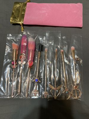 Sailor Moon Makeup Brushes for Sale in Fresno, CA