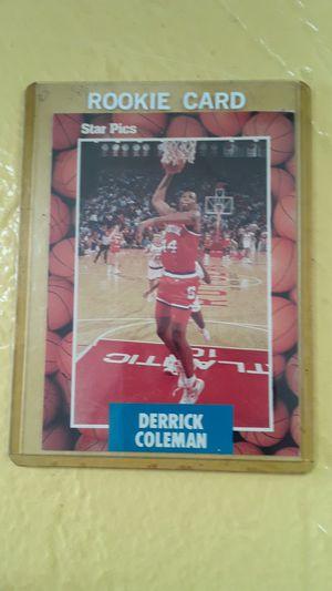 1990 Derrick Coleman star pics, inc for Sale in Conyers, GA