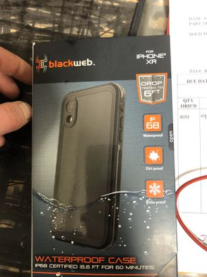 Blackweb waterproof case for iPhone XR for Sale in Fenton, MO