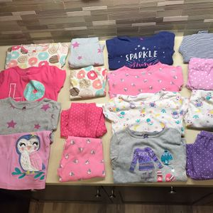 16pcs/8 Sets Girl Pajamas With Great Condition, Size 4-5T for Sale in Byron, CA