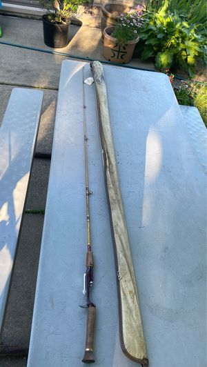 Fishing rod with case for Sale in Brookfield, IL