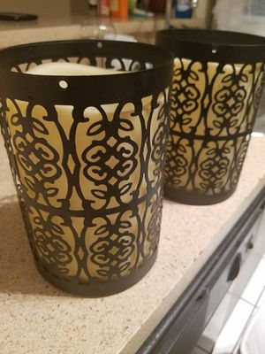2 batteries candle lights for Sale in Riverview, FL