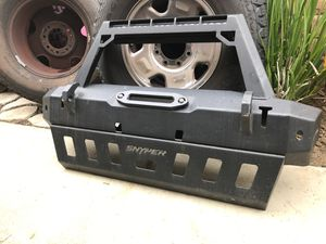 Westin WJ2 Bumper with skid plate for Jeep JK for Sale in Chino, CA