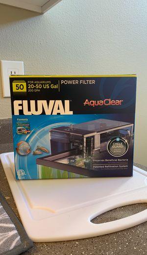 Aquaclear aquarium filter, 50 gallon for Sale in Vancouver, WA