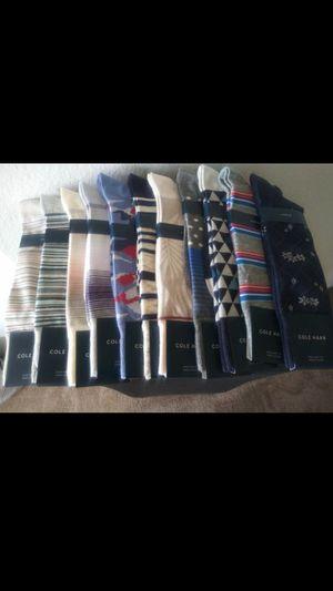 Mens ColeHaan dress socks for Sale in Ontario, CA