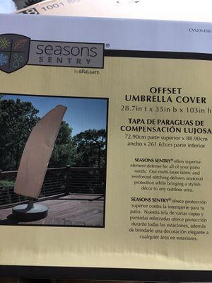 New offset patio umbrella cover for Sale in Dallas, TX