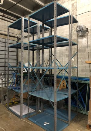 "Metal shelving 42"" W x 24"" Deep x 10' H for Sale in Miami, FL"